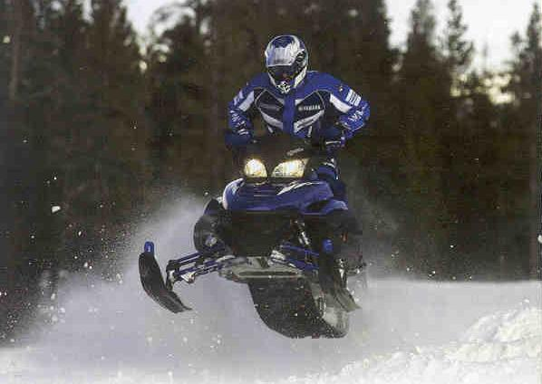 Yamaha Snowmobile